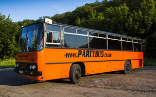 Retro Party Bus